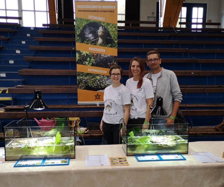 Wasserschildkröten Ibbenbüren auf der Terraristik Messe Osnabrück 2019