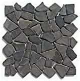 marmor mosaik Rückwand für wasserschildkröten als Kletterhilfe