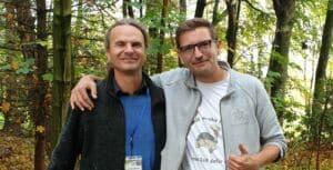 Peter Praschag und Marcin Janusz im Jahr 2019