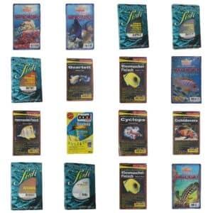 wasserschildkröten frostfutter sortiment